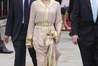 للا سلمى ترتدي القفطان في عدد كبير من المناسبات الرسمية في المغرب حيث يعد الزي الرسمي لبعض المناسبات مثل عيد العرش