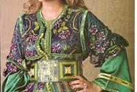 ارتدت أصالة هي الأخرى القفطان المغربي في عدة مناسبات