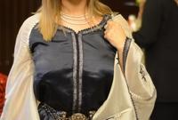 ترتدي جنات القفطان المغربي بين الحين والآخر