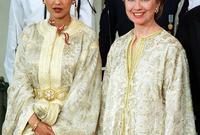 ارتدته في عدة مناسابات أبرزها حين قامت بزيارة المغرب
