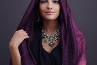 اشتهرت كذلك بوصفها أيقونة للموضة العربية حيث كانت تحرص على أناقتها ومظهرها بشكل جذاب للغاية ومناسب في نفس الوقت لطبيعة المجتمع العربي