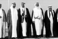 وكان حكام الإمارات السبع حينها هم..