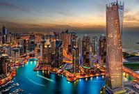 بالإضافة إلى الفنادق الفارهة والجزر الصناعية البديعة بجانب كونها مركزًا ترفيهيًا عالميًا يجذب مشاهير العالم وملايين الزوار والسياح بالإضافة لكونها أحد أحدث مدن العالم فيما يتعلق بالبنية التحتية