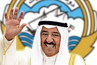 وكان الشيخ صباح الصباح هو أكبر حاكم عربي