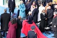 وبالفعل شاركت جاجا في حفل تنصيب الرئيس الأمريكي جو بايدن