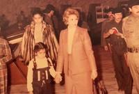 فرت بعد الاجتياح الأمريكي إلى الأردن أولًا مع بناتها وكانت في ضيافة المملكة