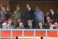 تم اغتيال الرئيس الشيشاني عام 2004 أثناء حضوره لإحتفالية يوم النصر