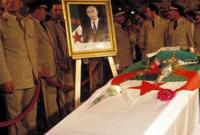 لقطة من جنازته