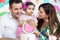 مهيرة متزوجة من رجل لبناني ولها ابنة واحدة تدعى يسمة