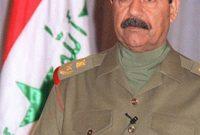 في عام 2003 تعرضت العراق في عهده إلى غزو أمريكي بريطاني تسبب في اسقاط نظامه ليقوم بالهرب والاختباء في مكان سري