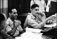 وفي الـ 8 من فبراير عام 1963 قام انقلاب عسكري في العراق ضده شارك فيه رفيقه السابق عبد السلام عارف ليتم القبض على قاسم
