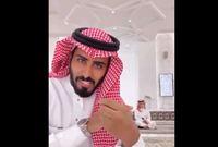 بعدما تم فصله من أحد الجامعات السعودية بسبب تغيبه عن الجامعة، والذي كان بسبب وفاة والده
