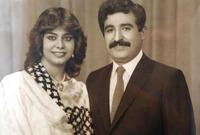 تزوجت من حسين كامل وزير التصنيع العسكري وباني قوات الحرس الجمهوري في عهد صدام وكان محل ثقته الكبيرة وذراعه الأيمن