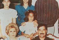 تعتبر الوحيدة من عائلة صدام حسين التي تدخلت سياسيًا بعد الغزو الأمريكي للعراق إثر اعتقال والدها