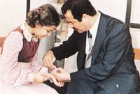 كانت أكثر أبناء صدام حسين اتصالًا به خلال فترة سجنه فكانت أكثر الأشخاص الذين يثق بهم صدام خلال تلك الفترة