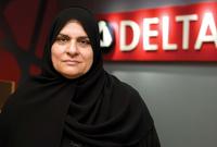 تأتي على رأس القائمة الإماراتية رجاء عيسى القرق والتي تشغل منصب المدير الإداري لمجموعة «عيسى صالح القرق»