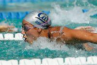 كما حصلت على الميدالية ذاتها هذا العام للمرة الثانية، وأصبحت مصدر إلهام لكثير من الشابات حيث تحفزهم على السباحة