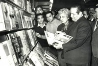 وهي أول سيدة مصرية تتولى رئاسة قسم اللغة العربية بكلية الآداب، ولمدة تسع سنوات، كما شاركت فى تأسيس معرض الكتاب