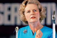 كانت أيضا زعيمة حزب المحافظين البريطاني، وقد تركت بصمتها على السياسة الدولية وحازت على لقب السيدة الحديدية لقيادتها الصارمة