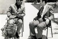 تحالف مع الرئيس المصري أنور السادات ونسق معه لخوض حرب مشتركة ضد إسرائيل في أكتوبر 1973 واستطاعا إلحاق هزيمة وخسائر كبيرة بإسرائيل في تلك الحرب