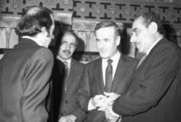 كاد أن يكون رئيسًا لاتحاد يضم سوريا والعراق في عام 1979 لكن استيلاء صدام حسين على السلطة في نفس العام في العراق حال دون ذلك