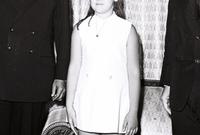 الابنة الكبرى هي بشرى والتي ولدت عام 1960 وتخرجت من كلية الصيدلة بجامعة دمشق