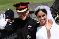 """كما أعلنت في اللقاء أنها عقدت قرانها على الأميرهاري قبل 3 أيام من موعد الزفاف الملكي في حفل """"سري"""". وقائلة: """"أردنا أن يكون زواجنا مخصصاً لنا"""""""