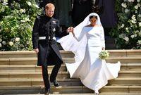 تزوجت من الأمير هاري في 19 مايو 2018 وتخلت عن عملها في الفن بعد الزواج