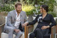 وكشفا خلال اللقاء أنهما من المتوقع أن يرزقا بفتاة، بعد أن أعلنا في سابقا أن ميجان حامل