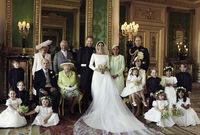 وقالت إن كايت ميدلتون، هي التي جعلتها تبكي بشأن فساتين الفتيات اللواتي يحملن الزهور في الزفاف الملكي