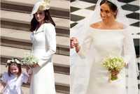 وعن واقعة بكاء دوقة كامبريدج كيت ميدلتون، زوجة الأمير ويليام شقيق هاري، يوم زفافها  قالت ميجان أن الحقيقة العكس