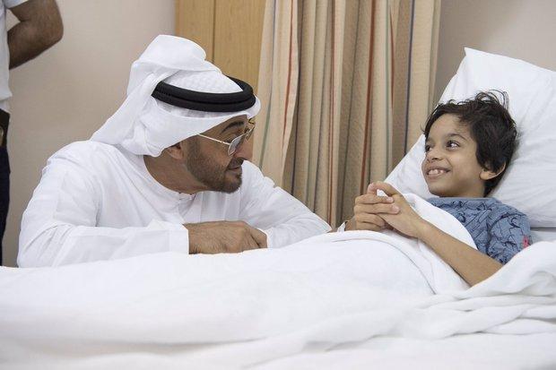 اسمه الشيخ محمد بن زايد بن سلطان آل نهيان الفلاحي (مواليد 11 مارس 1961)