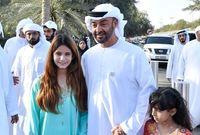 هو الابن الثالث من أبناء الشيخ زايد بن سلطان آل نهيان مؤسس دولة الإمارات ووالدته هي الشيخة فاطمة بنت مبارك الكتبي