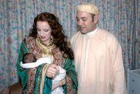 الأميرة للالة سلمى، هي السيدة الأولى للمملكة المغربية، وهي زوجة ملك المغرب محمد السادس، تم زواجهما في عام 2002