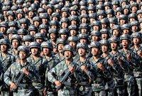 وتحتل الصين المركز الثالث بقوة هائلة في عدد الجيش تصل لـ 2 مليون و 185 ألف جندي و510 ألف جندي احتياطي