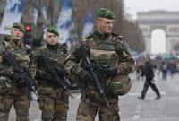 وتأتي فرنسا في المركز السابع وتعد الدولة الأولى أوروبيا في قوة جيشها