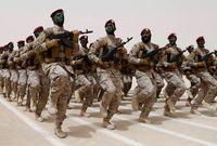 وتمتلك السعودية ما يقارب لـ 480 ألف جندي بينما لا تملك السعودية قوة احتياطية