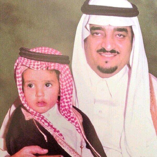 هو الأمير عبد العزيز الابن الأصغر للملك فهد بن عبد العزيز آل سعود
