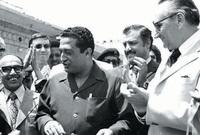 تم اغتياله في حادثة مدبرة هو وأخوه عبد الله الحمدي في 11 أكتوبر 1977