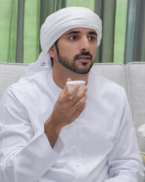 حمدان بن محمد بن راشد آل مكتوم، ولي عهد دبي، ولد في 14 نوفمبر عام 1982