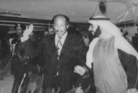 قام كذلك بتقديم دعم مادي كبير لمصر أثناء الحرب وصلت قيمه لـ 100 مليون جنيه استرليني