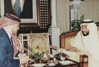الشيخ زايد وملك الأردن عبد الله الثاني