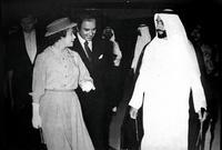 الشيخ زايد والملكة إليزابيث