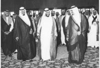 الشيخ زايد والملك فهد