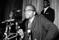 وفي عام 1964 أسس منظمة الوحدة الإفريقية الأمريكية، التي دافعت عن هوية السود وأكدت أن العنصرية، وليس البيض، هي المصيبة الأعظم التي تواجه الأمريكيين الأفارقة