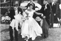 تزوج جون كندي من جاكلين بوفييه عام 1953 وأنجبا 3 أبناء