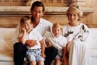 رزق الزوجين بطفلين هما الأمير وليام والأمير هاري ولكن انتهى زواجهما بالانفصال 1996