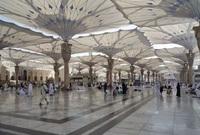 أيضا قامت السعودية بتركيب أكبر مظلة في العالم وهي مظلة الحرم المكي
