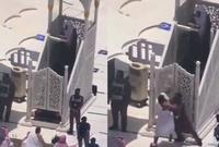"""حدث اثناء خطبتة لصلاة الجمعة بالمسجد الحرام حادث شهير حيث قام أحد المصليين بمحاولة اقتحام المنبر مدعي أنه """"المهدي المنتظر"""" ولكن تم القبض على الجاني وتسليمة للشرطة"""