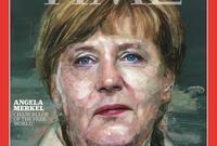 عام 2015، حصلت ميركل من قبل مجلة التايم على شخصية العام مع صورة على غلاف المجلة واصفة إياها كمستشارة للعالم الحر